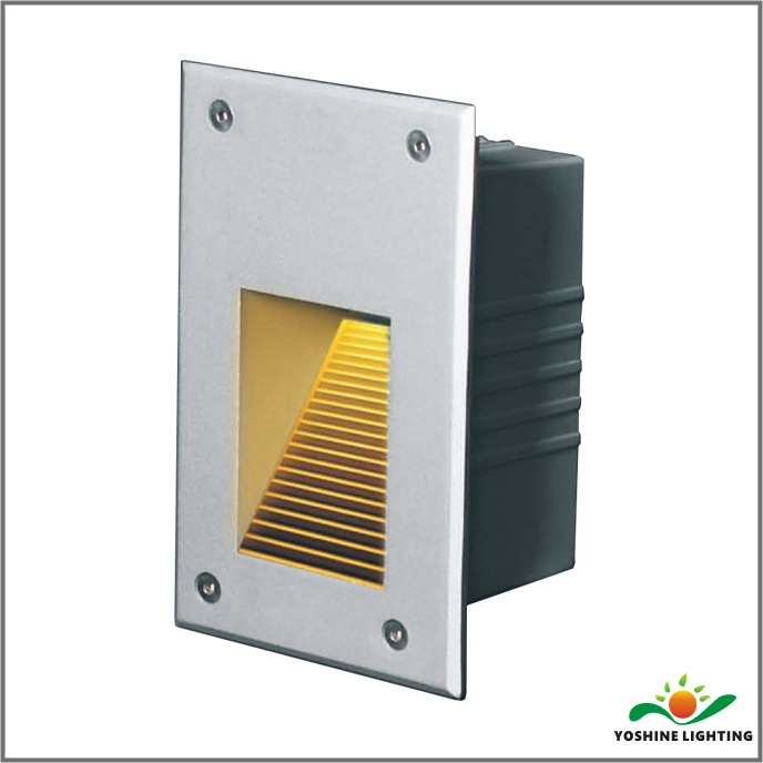 lighting lights louver sacramento nickel light step ww led product satin