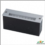 LED louver step light