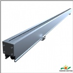 LED wall grazing luminaire
